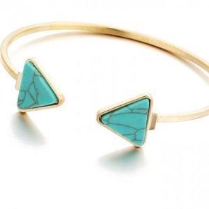 100% FREE FREE ‼️ ‼️Woman's Stone Bracelet Bangle